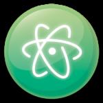 【Atom エディタ】Python で Matplotlib のグラフを Atom 上に表示させる方法。